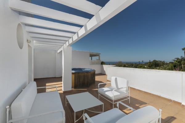 2 Chambre, 2 Salle de bains Penthouse A Vendre danse Marbella Real, Marbella Golden Mile
