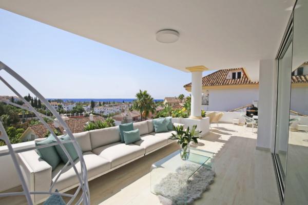 3 Chambre, 3 Salle de bains Penthouse A Vendre danse Marbella Golden Mile